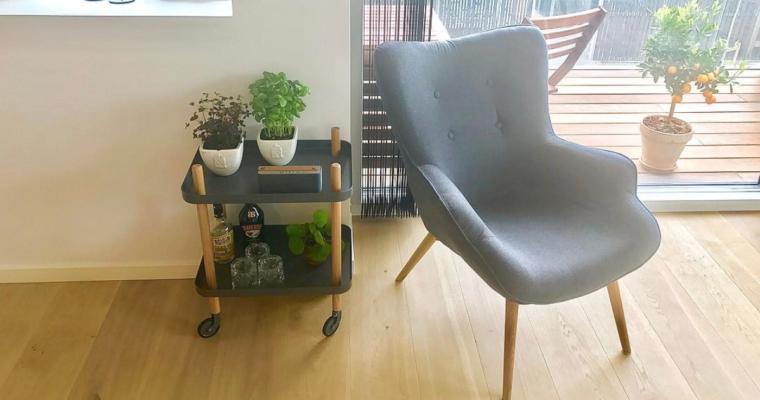 Moderne rullebord med mange muligheder