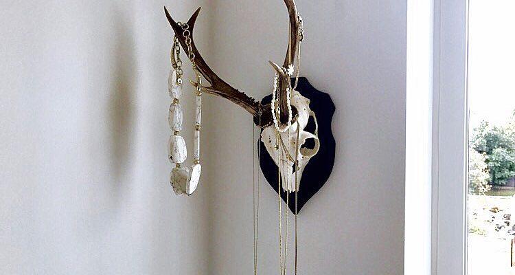 Gevir som smykkestativ