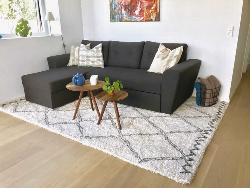 Enormt Sådan vælger du det rigtige tæppe – Indretningstips EF05